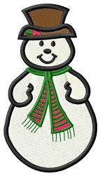 Snowman #2 embroidery design