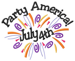 Party America embroidery design