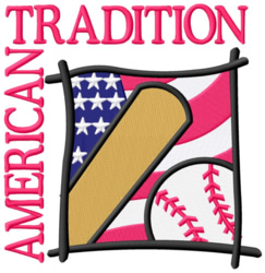 American Tradition embroidery design