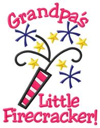 Grandpas Little Firecracker embroidery design