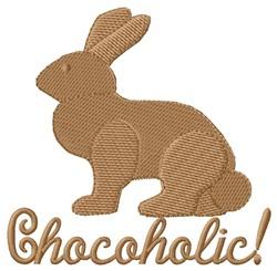 Chocoholic embroidery design