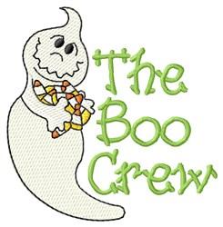 The Boo Crew embroidery design