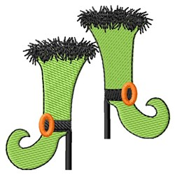 Witch Shoes embroidery design