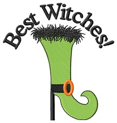 Best Witches! embroidery design
