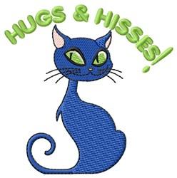 Hus & Hisses Halloween embroidery design