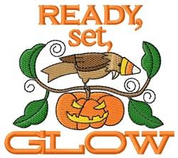 Halloween Lantern embroidery design