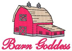 Barn Goddess embroidery design