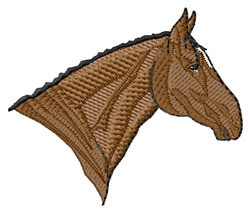 Anglo-Arab Head embroidery design
