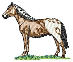 Falabella Horse embroidery design