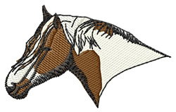 Gypsy Vanner Head embroidery design