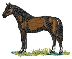 Hanoverian embroidery design