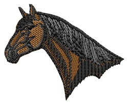 Hanoverian Head embroidery design