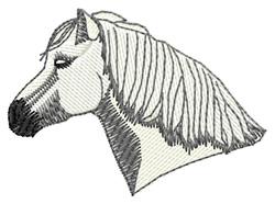 Highland Pony Head embroidery design