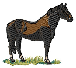 Irish Draught embroidery design