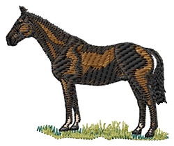 Irish Hunter embroidery design