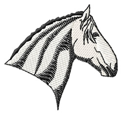 Lipizzaner Head embroidery design