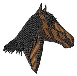 Maremma Horse Head embroidery design