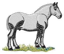 Percheron #2 embroidery design