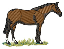 Irish Hunter #2 embroidery design