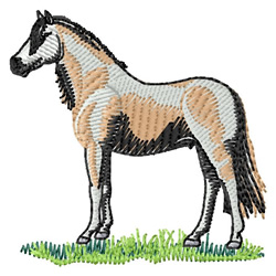 Welsh Pony embroidery design