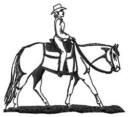 Pleasure Rider embroidery design