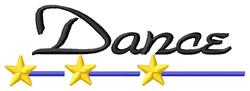 Dance 1 embroidery design