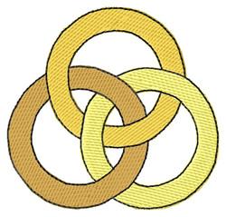 Trinity embroidery design