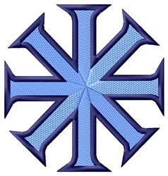 Baptismal Cross embroidery design