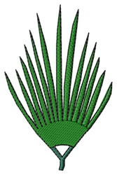 Palm Branch embroidery design