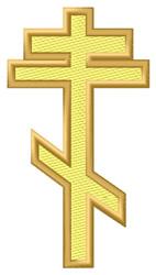 Slavonic Cross embroidery design