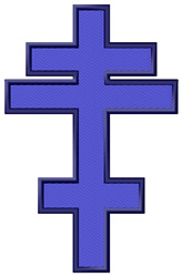 Byzantine Cross embroidery design