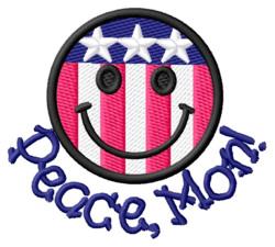 Peace, Mon! embroidery design
