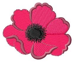 Poppy embroidery design