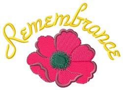 Remembrance embroidery design