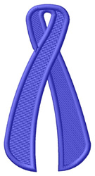 Blue Ribbon embroidery design