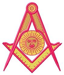 Mason Logo embroidery design