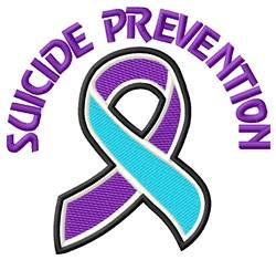 Suicide Prevention embroidery design