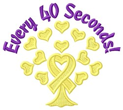 40 Seconds embroidery design