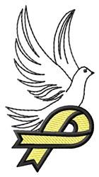 Suicide Prevention Dove embroidery design