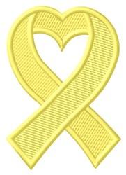 Suicide Ribbon embroidery design