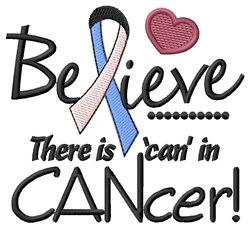 Can In Cancer embroidery design