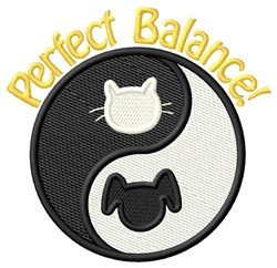 Perfect Balance! embroidery design