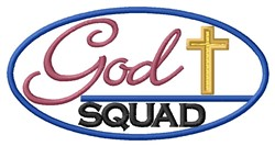 God Squad embroidery design