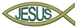 Jesus embroidery design