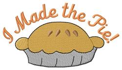 Homemade Pie embroidery design