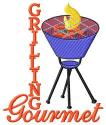 Gourmet embroidery design