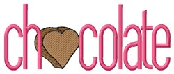 Chocolate embroidery design