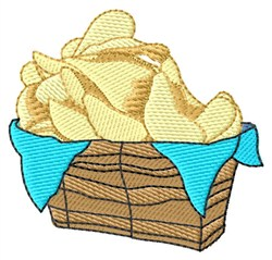 Potato Chips embroidery design