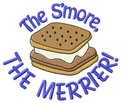 The Smore The Merrier embroidery design
