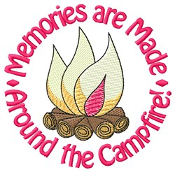 Around The Campfire embroidery design